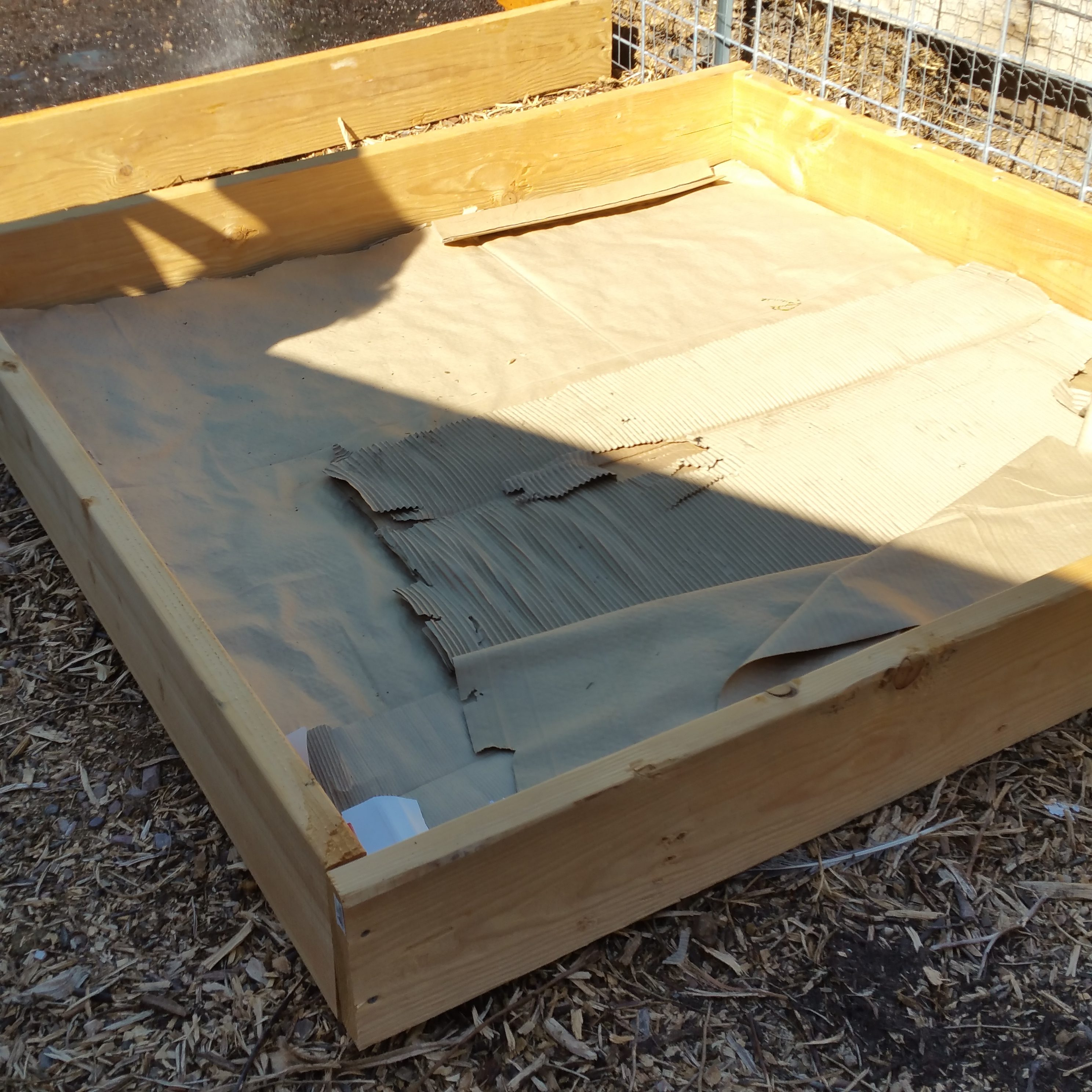 how to create a raised bed