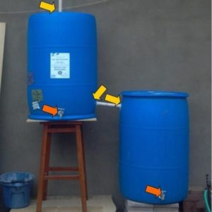 arrows rain barrel