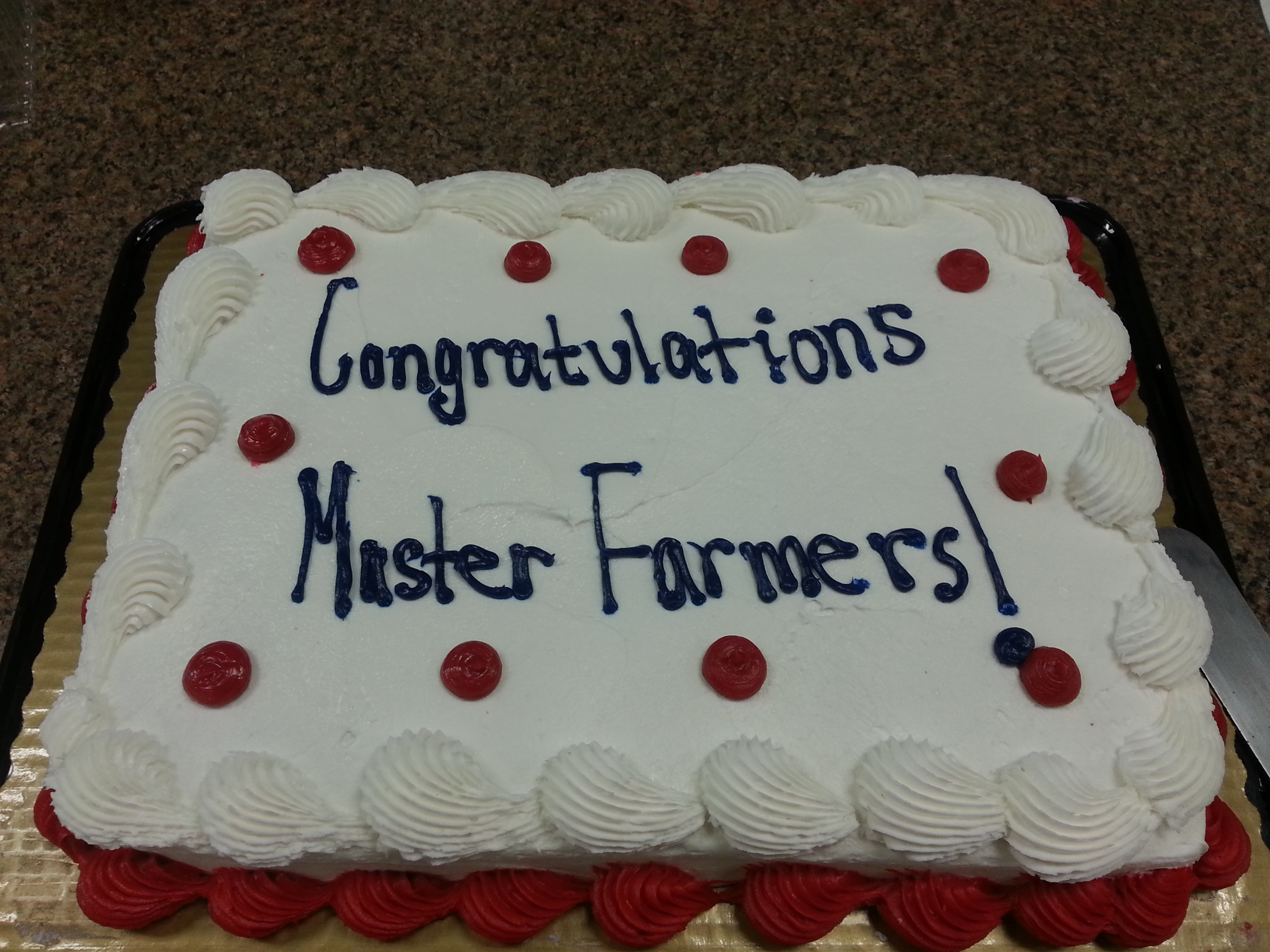 master farmers learn to grow food
