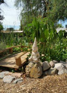 edible landscaping water garden
